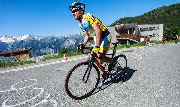Montée de l'Alpe d'Huez
